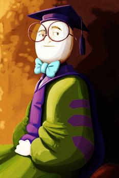 professor egghead image
