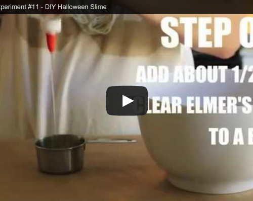 Cool Science Project #11 – Make Halloween Slime