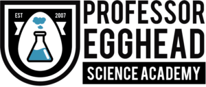 Professor Egghead Science Academy Logo