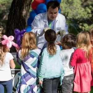Professor Egghead Science Booth Program