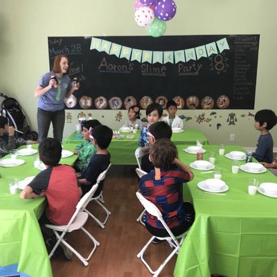 Professor Egghead Slime Party