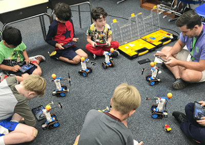 Professor Egghead Robotics Camp Classes