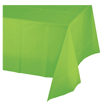 Egghead Slime Party Green Tablecloth Theme