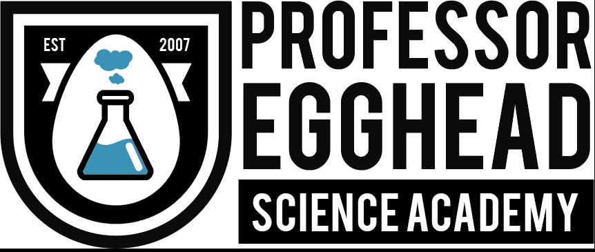 Professor Egghead Science Academy Logo